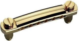 Schaller Stop Tailpiece Gold