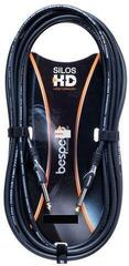Bespeco HD Silos Hybrid Cable Black/Straight - Straight