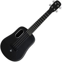 Lava Music Acoustic Concert Ukulele Black