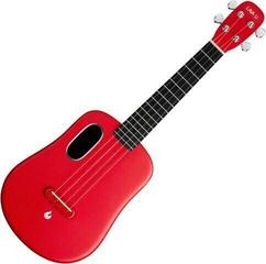 Lava Music Acoustic Concert Ukulele Red