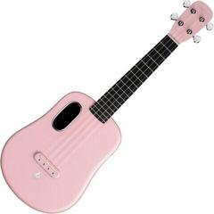 Lava Music Acoustic Concert Ukulele Pink