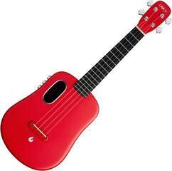 Lava Music FreeBoost Concert Ukulele Red