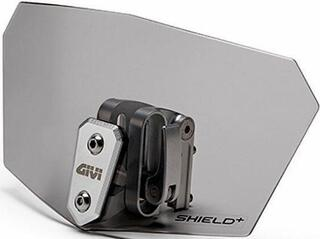 Givi S180F Shield+ Universal Smoked Shield Wind Deflector