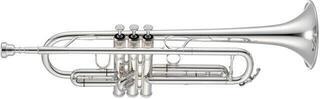 Jupiter Bb Trumpet Silver-Plated Reversed