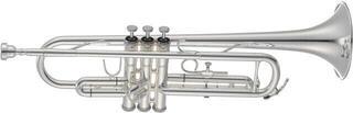 Jupiter JTR700RSQ Bb Trumpet Rose Brass Silver-Plated