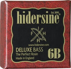 Hidersine Double Bass Deluxe Rosin Dark All Weather Large