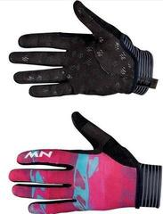 Northwave Womens Air Gloves Full Fingers Beetroot/Green L