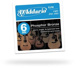 D'Addario EJ16 Six Pack