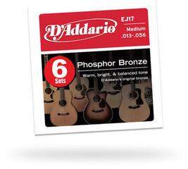 D'Addario EJ17 Six Pack