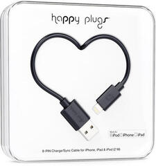 Happy Plugs Lightning Cable 2m Black