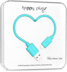 Happy Plugs Lightning Cable 2m Turquoise
