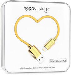 Happy Plugs Lightning Cable 2m Gold