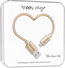 Happy Plugs Lightning Cable 2M, Champagne