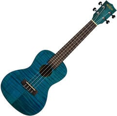 Kala KA CEMB Exotic Mahogany Concert Ukulele Blue with Bag