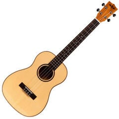 Kala Solid Spruce Top Baritone Ukulele Flamed Maple with Case