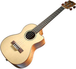 Kala Solid Spruce Top Tenor Ukulele Flamed Maple EQ with Case