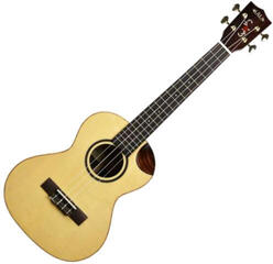 Kala Solid Bearclaw Spruce Tenor Ukulele with Cutaway and Case