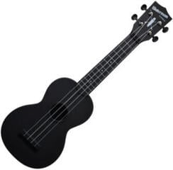 Kala Waterman Soprano Black Matte side&back with Bag