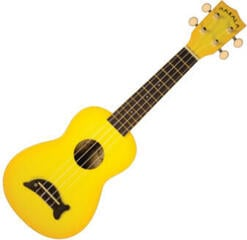 Kala Makala Soprano Ukulele Yellow Burst with Non Woven Bag