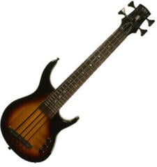 Kala Solid U-Bass Fretted 4 String Tobacco Sunburst with Gigbag