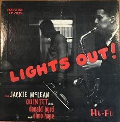 Jackie McLean Lights Out! (LP)