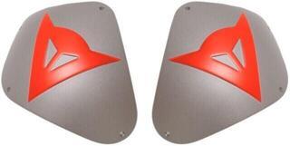 Dainese Kit Shoulder Sport Alum. Aluminum/Fluo Red