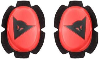 Dainese Pista Knee Slider Fluo Red/Black