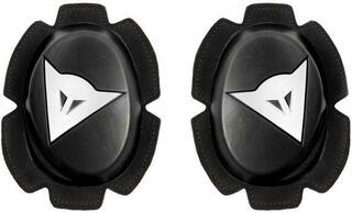 Dainese Pista Knee Slider High Durability Black/White