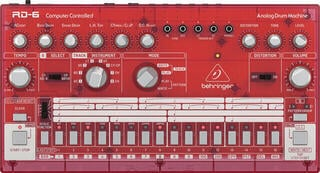 Behringer RD 6 Red Transparent