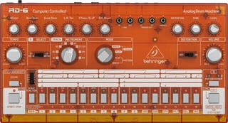 Behringer RD 6 Orange Transparent