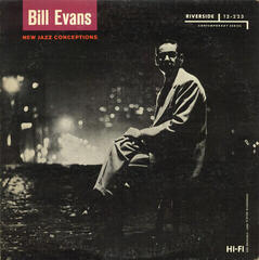 Bill Evans New Jazz Conceptions (LP) Reissue