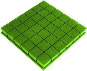 Mega Acoustic PA-PM-KOSTKA7-G-50x50x7 Green