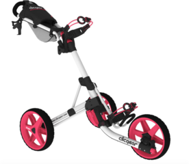 Clicgear 3.5+ Arctic/Pink Golf Trolley