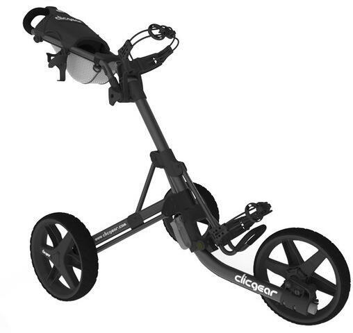 Clicgear 3.5+ Charcoal/Black Golf Trolley