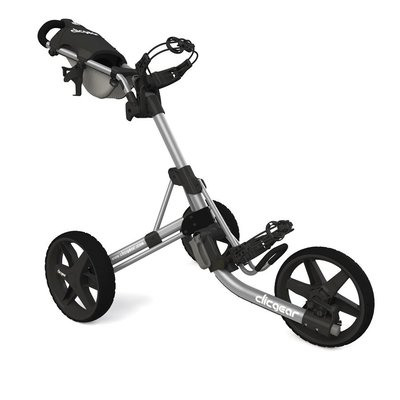 Clicgear 3.5+ Silver Golf Trolley