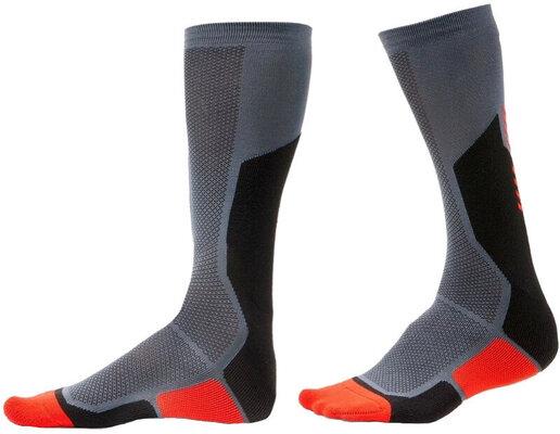 Rev'it! Socks Charger Black/Red 45-47