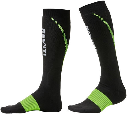 Rev'it! Socks Trident Black/Yellow 42-44