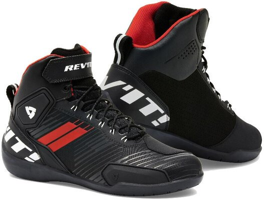 Rev'it! Shoes G/Force Black/Neon Red 45