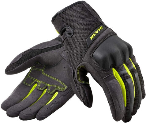 Rev'it! Gloves Volcano Black/Neon Yellow L