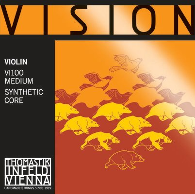 Thomastik VI100 Vision Violin String Set 1/4