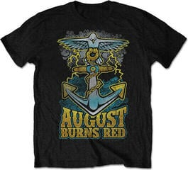August Burns Red Dove Anchor Mens Blk T Shirt: L