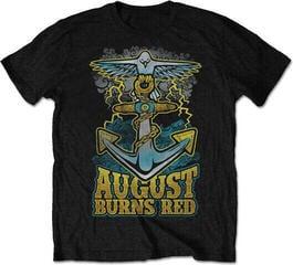 August Burns Red Dove Anchor Mens Blk T Shirt: L