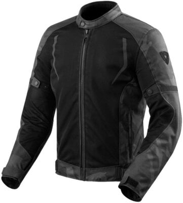 Rev'it! Jacket Torque Black/Grey XL