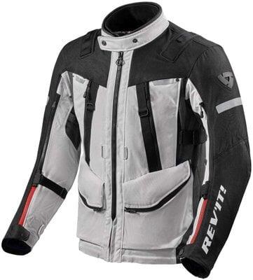 Rev'it! Jacket Sand 4 H2O Silver/Black 4XL