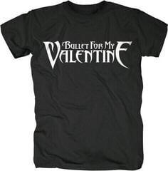 Bullet For My Valentine Logo Mens Black T Shirt: L