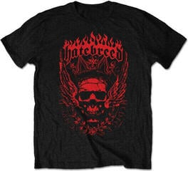 Hatebreed Crown Mens Blk T Shirt: M