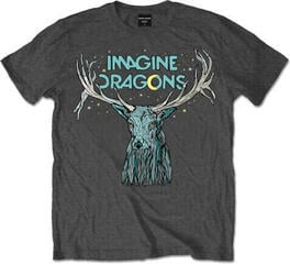 Imagine Dragons Elk In Stars Mens Charcoal T Shirt: L
