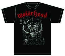 Motörhead Motorhead Playing Card Mens T Shirt Black