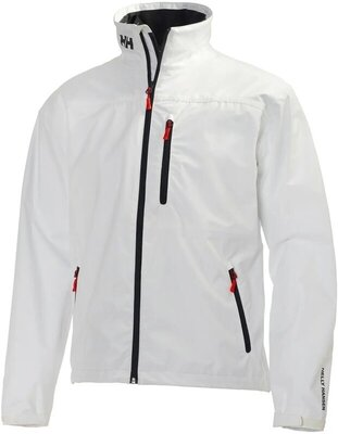 Helly Hansen Crew Sailing Jacket White 3XL