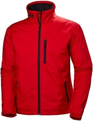 Helly Hansen Crew Sailing Jacket Alert Red 2XL